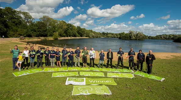 Haysden Country Park celebrates 10 years of Green Flag Awards