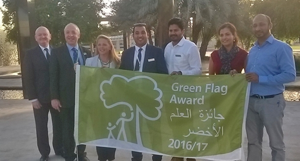 Green Flag Award for harbourside park in Sydney