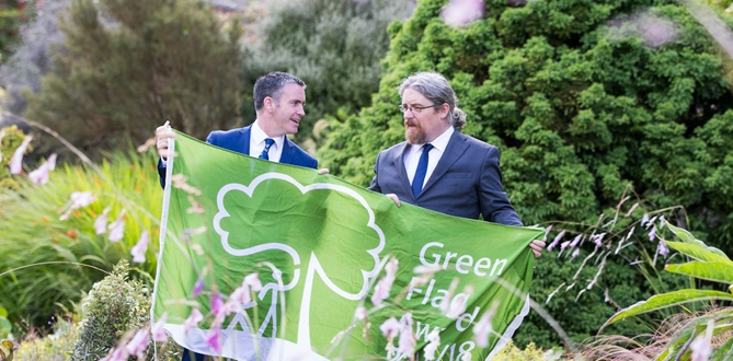 Increasing numbers of Irish parks achieve the Green Flag Award