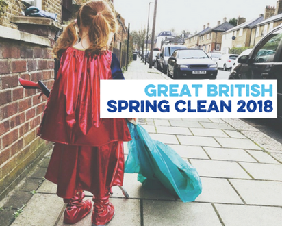 Thank you Great British Spring Clean-ers