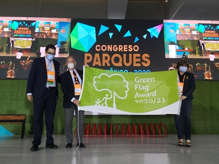 Mexico celebrates Green Flag Awards at international parks congress