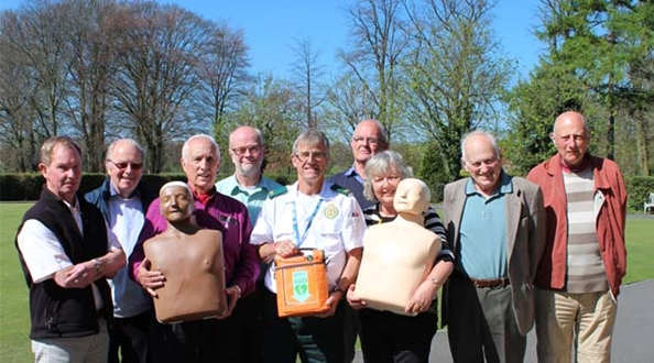 Green Flag Award Park groups are now trained lifesavers