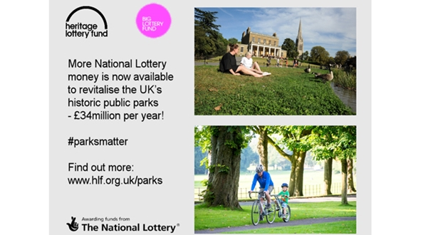 Big Lottery Fund commits £20m further funding to revive public parks