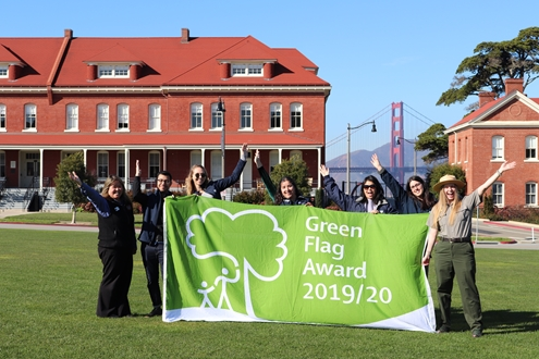 Presidio becomes first park in USA to win the international Green Flag Award